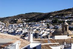 White town, Montefrio, Andalusia, Spain. Stock Images