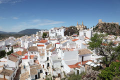 White town Olvera, Spain Stock Image