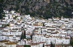 White Town, pueblo blanco, Andalusia, Spain Royalty Free Stock Photo