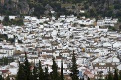 White Town, pueblo blanco, Andalusia, Spain Royalty Free Stock Photos