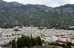 White Town, pueblo blanco, Andalusia, Spain Stock Images