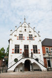 White Townhall in Anholt Germany Royalty Free Stock Photography
