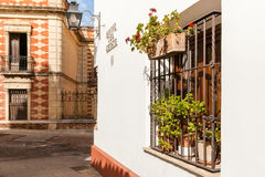 The White Towns of Andalusia, or Pueblos Blancosin the provinces Royalty Free Stock Photography