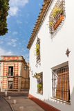 The White Towns of Andalusia, or Pueblos Blancosin the provinces Royalty Free Stock Photo