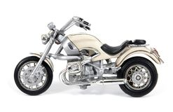 Free White Toy Motorcycle Isolated On White Background. Motorcycle Toy Isolated Stock Image - 148783731