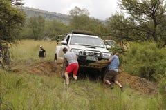 White Toyota Raider Hilux 3.0L Royalty Free Stock Photo