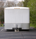 White Trailer Stock Photography