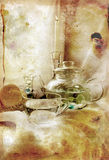 White and translucent still life Royalty Free Stock Images