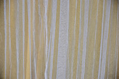 White transparency thin curtain Stock Photo