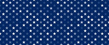 Free White Transparent Stars On Blue Background Stock Image - 159162261