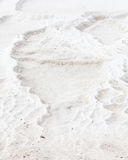 White Travertine Royalty Free Stock Photography