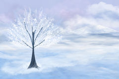 White tree Stock Photos