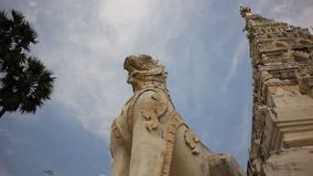 White Triangle Pagoda stock video
