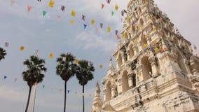 White Triangle Pagoda stock footage
