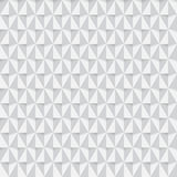 White triangle seamless pattern background. Vector illustration Stock Photos