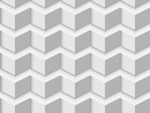White triangle textured wall Stock Image