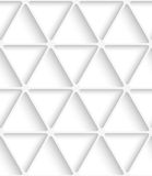 White triangular net seamless Royalty Free Stock Images