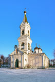 White Trinity Church in Tver, Russia Royalty Free Stock Photo