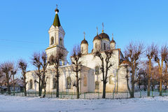 White Trinity Church in Tver, Russia Stock Photography