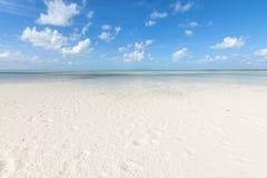 White tropical beach stock photos
