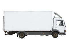 White Truck Royalty Free Stock Image