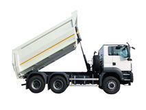 White truck Royalty Free Stock Photography