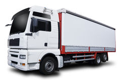 A White Truck Stock Image