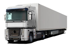 White truck renault magnum. Stock Photography