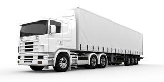 White truck Royalty Free Stock Photos