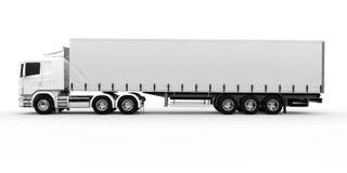 White truck Stock Photos