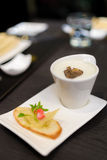 White truffle mushroom soup Stock Images