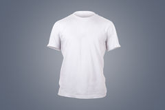 White Tshirt Template Royalty Free Stock Photography