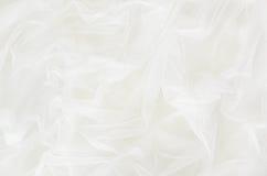 White tulle drapery Stock Photo