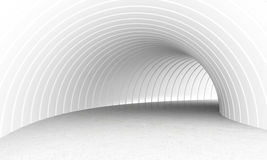 White tunnel Stock Photos