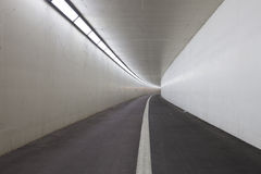 White tunnel path Royalty Free Stock Photography