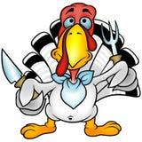 White Turkey Royalty Free Stock Photography