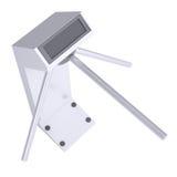 White turnstile Stock Image
