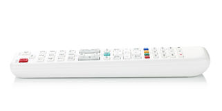 White TV remote control Stock Photography