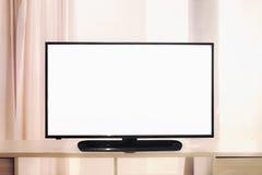 White tv screen Stock Photo