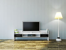 White TV Stock Photography