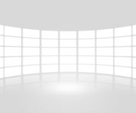 White TV Show Stage Backdrop Royalty Free Stock Photography