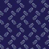 White twigs seamless pattern background. royalty free illustration