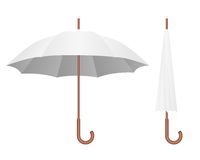 White umbrella Royalty Free Stock Image