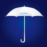 White umbrella Stock Image