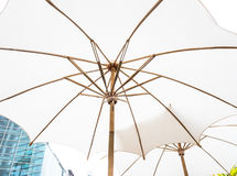 White umbrella Stock Photos