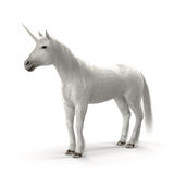 White Unicorn Royalty Free Stock Photos