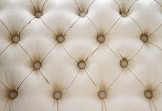 White upholster pattern Royalty Free Stock Photography