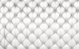 White upholstery background Royalty Free Stock Photos