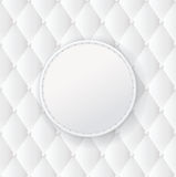 White upholstery background. Stock Photos