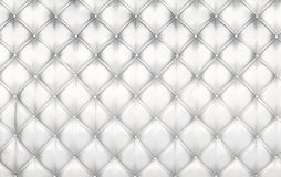 White upholstery background Royalty Free Stock Photos